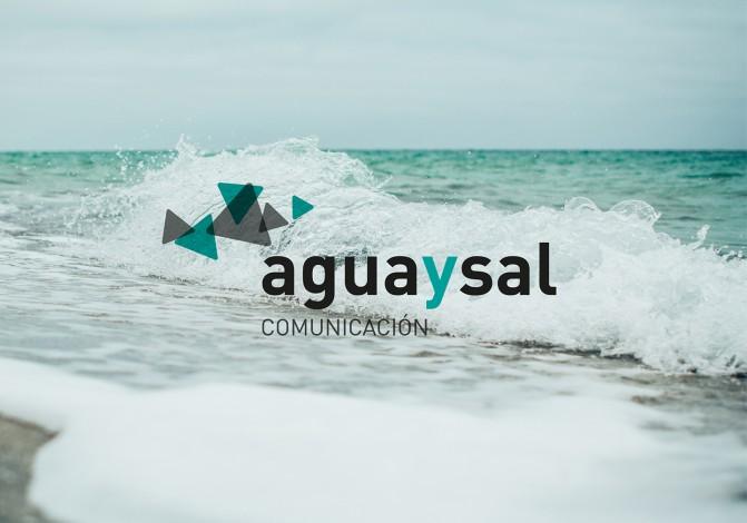 aguaysal marca identidad corporativa comunicación