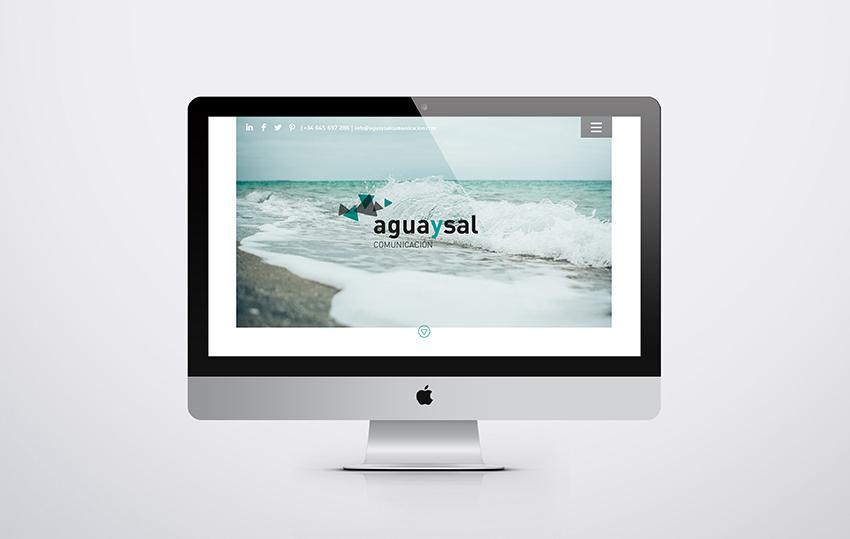 diseño web aguaysal comunicación responsive parallax