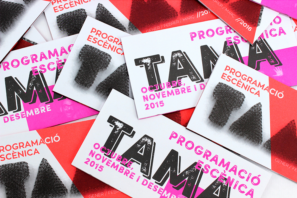 folletos TAMA programa cultural