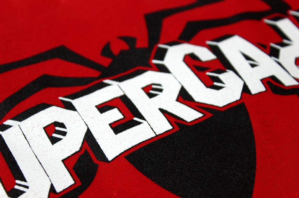supercada diseño gráfico superhéroe campaña publicidad advertising redes sociales superhéroes superheroínas superman batman spiderman camisetas poster postal comerciantes CAdA Alaquás hastag facebook sorteo
