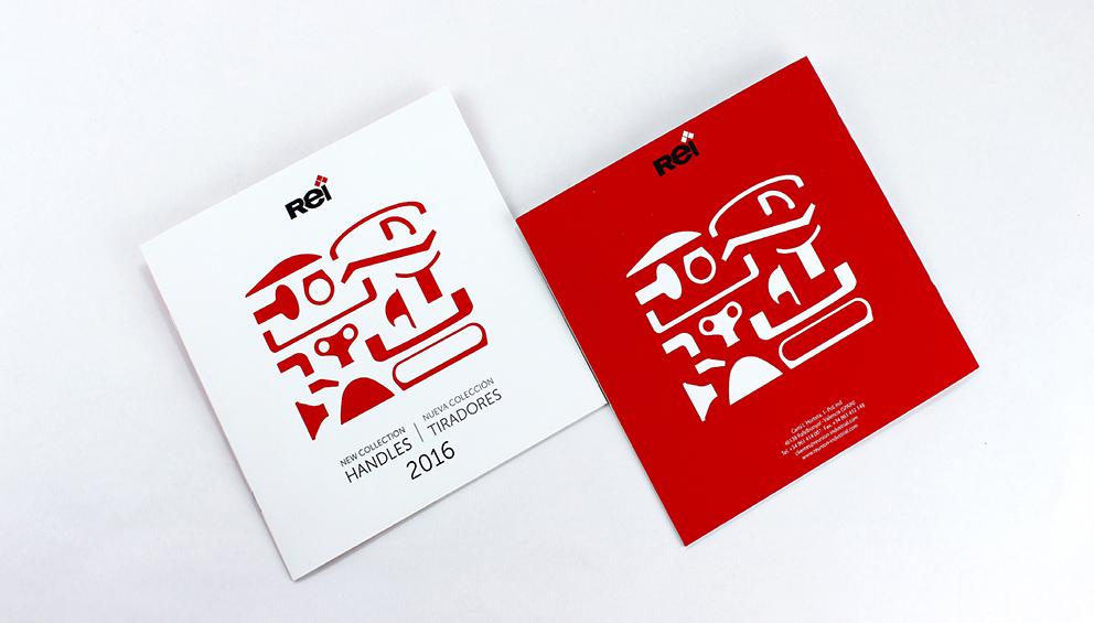 REI reunión industrial catalogo diseño editorial gráfico maquetación publicidad tiradores novedades
