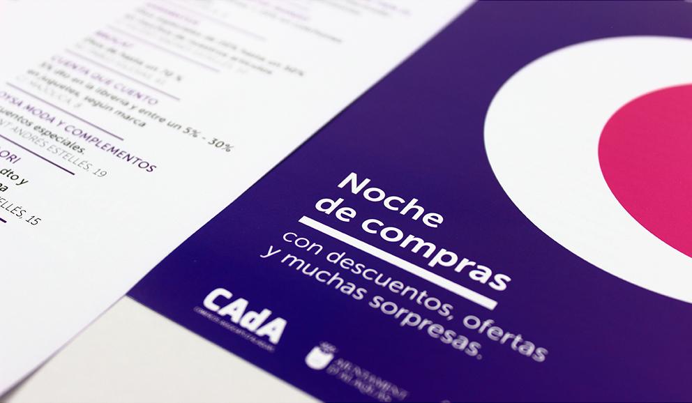 CAdA Alaquas feria market diseño grafico campaña pubilicidad comerciantes nit oberta a pie de calle poster redes sociales facebook comunicación oferta folleto