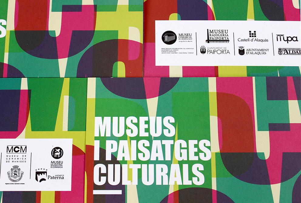 museus horta folleto dia internacional museos diseño grafico valencia paisajes culturales cultura alaquas paiporta torrent aldaia paterna manises