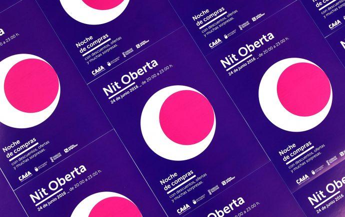 CAdA Alaquas feria market diseño grafico campaña pubilicidad comerciantes nit oberta a pie de calle poster redes sociales