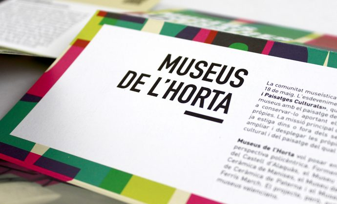 museus horta folleto dia internacional museos diseño grafico valencia