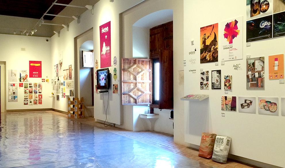 expo latidos gráficos diseño alaquàs castillo angelgrafico exposición colectiva latidosgraficos diseñadores valencianos