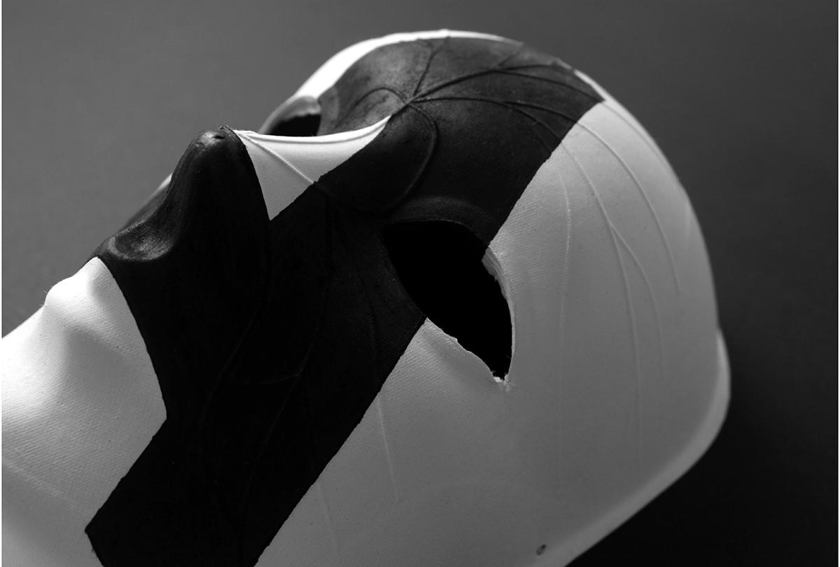 TAMA Aldaia diseño gráfico diseño experimental tipografía programación artes escénicas cultura teatro comunicación gráfica deconstrucción hilo hilar folleto tinta especial offset máscaras tipografía rotulación