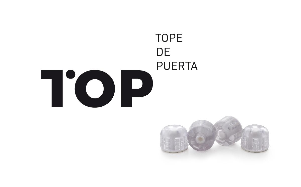 rei top marca tope puerta diseño gráfico valencia producto reunión industrial herraje