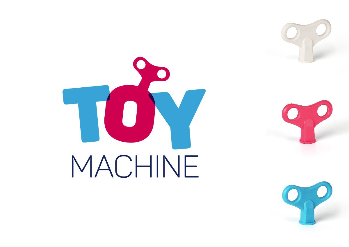 rei toy machine marca pomo asa diseño gráfico valencia producto reunión industrial herraje infantil llave
